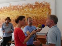 Conférence de presse ©Agence des aires marines protégées/observatoire Pelagis – REMMOA 2014
