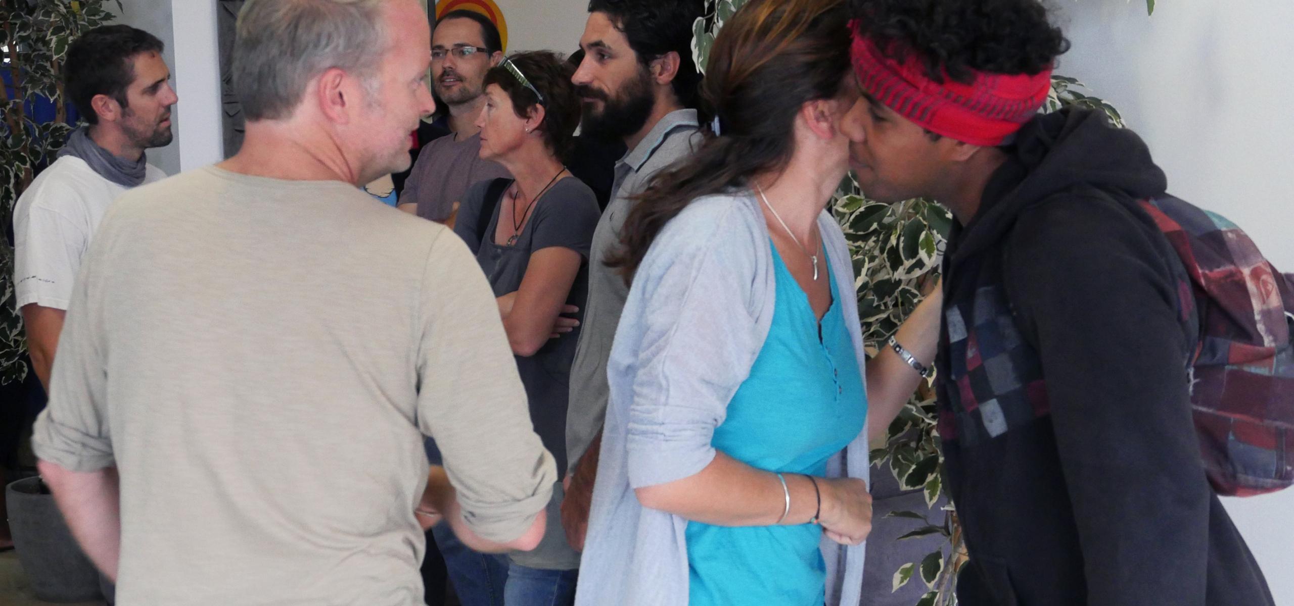 Rencontre et retrouvailles ©Agence des aires marines protégées/observatoire Pelagis – REMMOA 2014