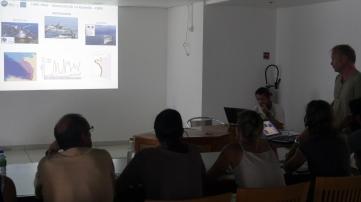 Formation au sol - cours ©Agence des aires marines protégées/observatoire Pelagis – REMMOA 2014