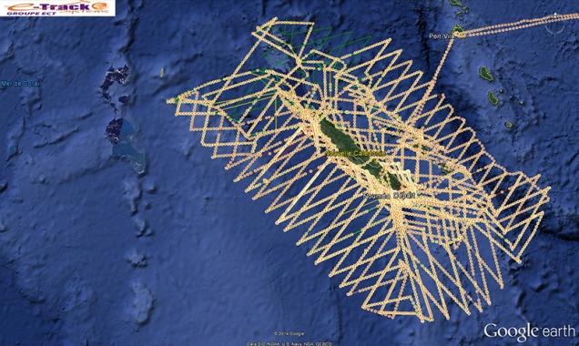 traces avions 20141201_NC ©Agence des aires marines protégées/observatoire Pelagis – REMMOA 2014